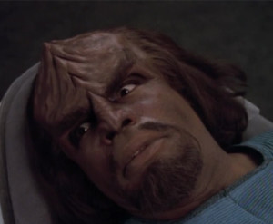Worf's confused look