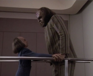 Alex and Worf together