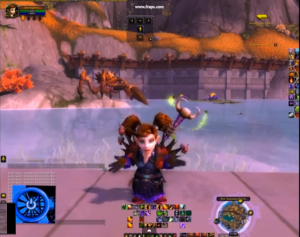 screen grab of WoW