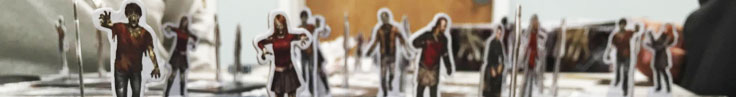 Image from Dead of Winter, zombie standups