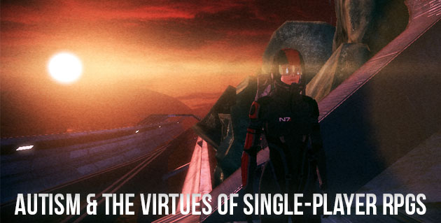 Autism and the Virtues of Single-Player RPGs. Screenshot of Mass Effect