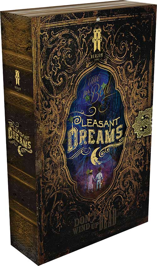 Tabletop Game Review #8 - Pleasant Dreams - The Geeky Gimp